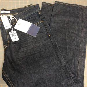 NWT banana republic dark wash jeans - 35x30